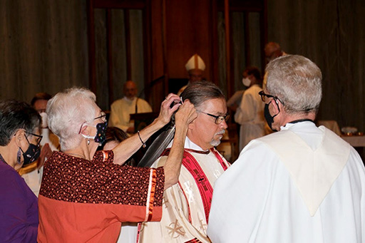 bill white becoming ordained