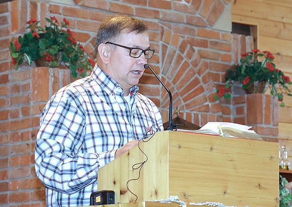 Bill White at Black Elk Mass