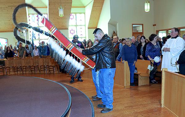 Black Elk Mass Staff