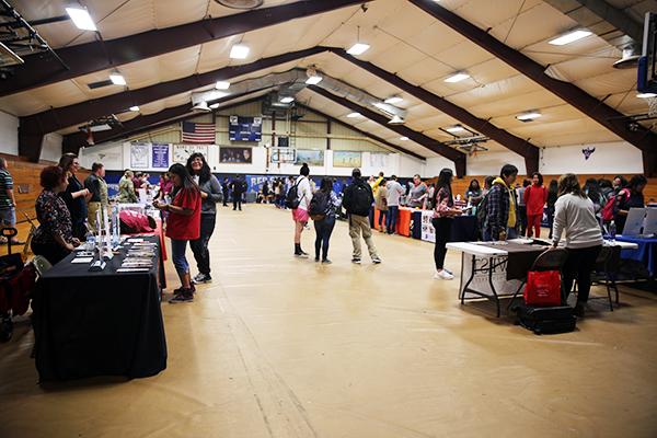College Fair Booths