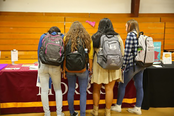 RCIS College Fair Students