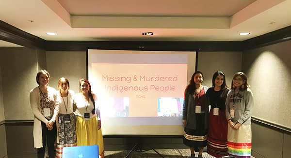 MMIW Presentation by RC Students