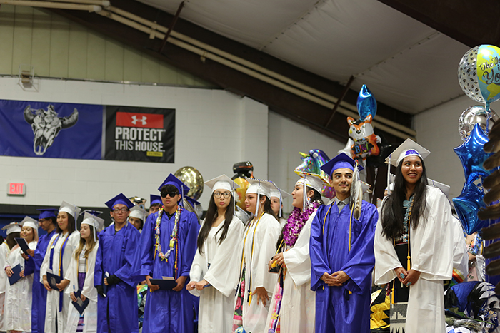 Graduating RCI students