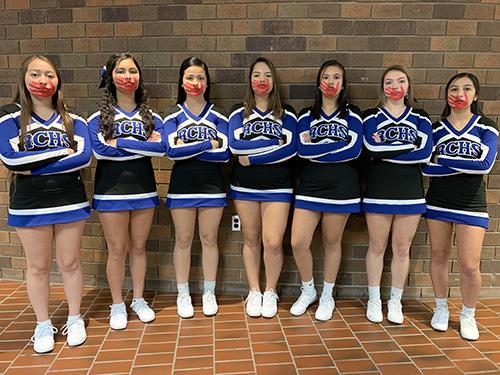 Red Cloud Cheer Team