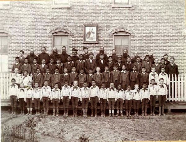 Historical Holy Rosary Mission Boarding School Photo