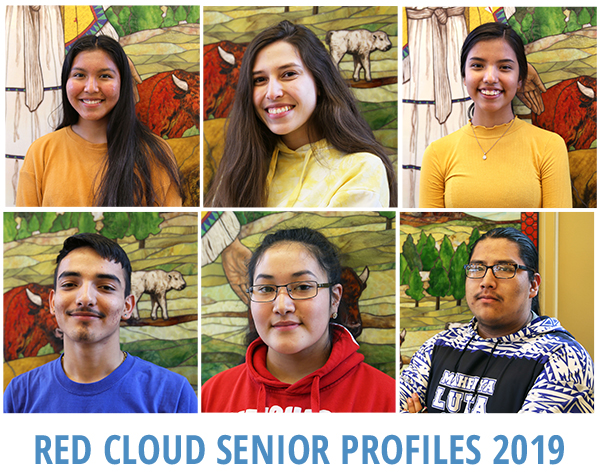 Red Cloud students
