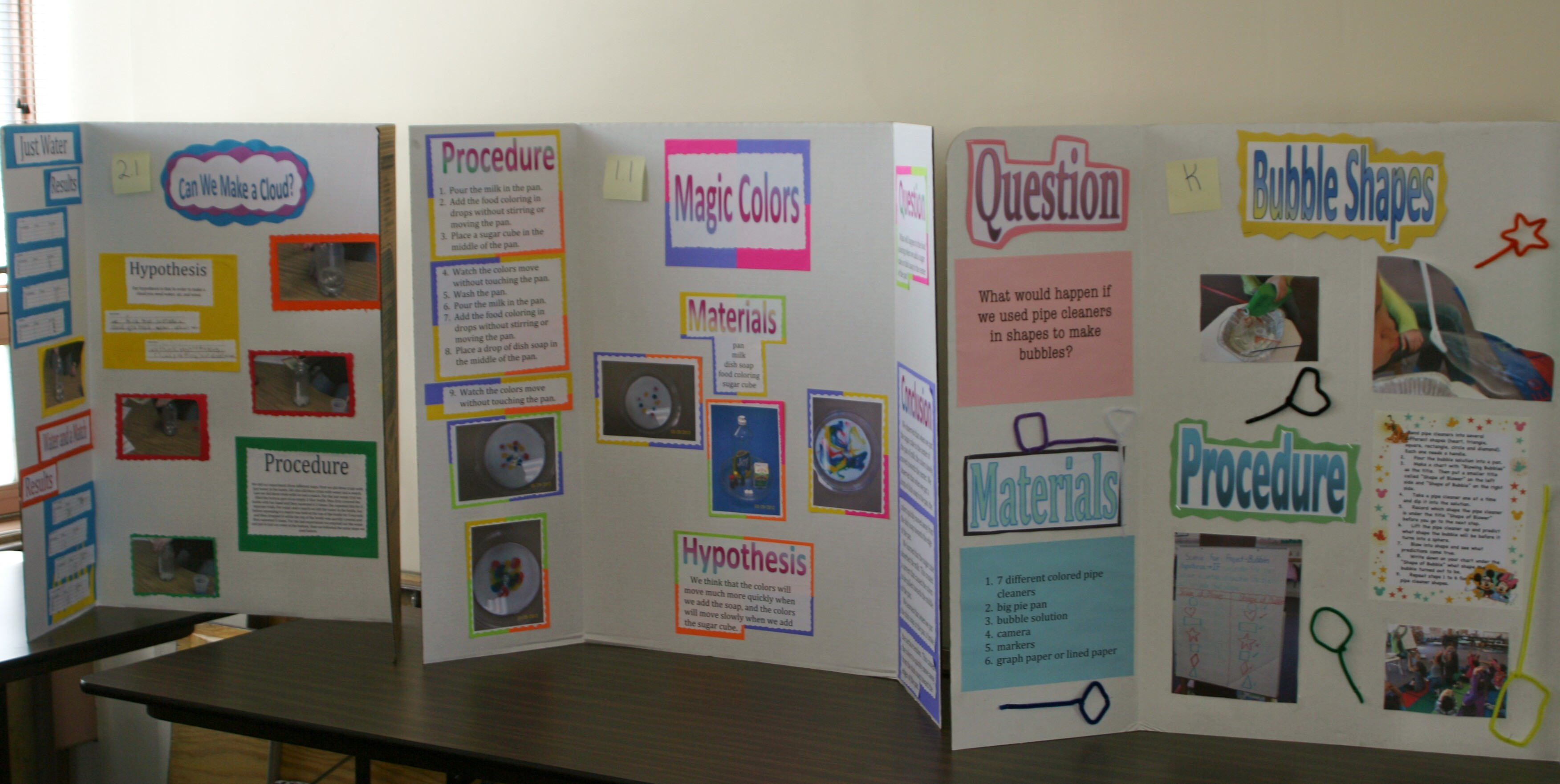 recycling science fair projects